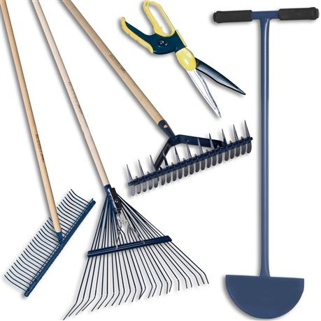 Kit de 5 outils pour l´entretien des pelouses