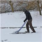 Traineau à neige galvanisé 51x60 cm