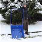 Traineau à neige 640x700 en polypropylène