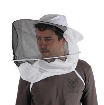 Chapeau rond avec voile pour apiculteur