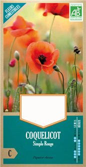 Coquelicot sauvage AB