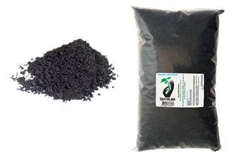 Basalte volcanique de 2 kg pour favoriser la vie des sols utilisable en Bio