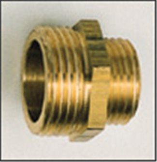 Réduction laiton 33/42 26/34 mâle/mâle pour sortie de pompe
