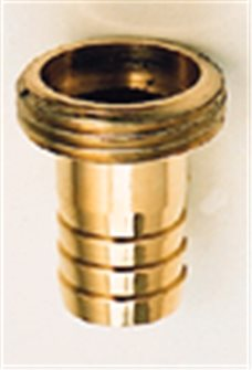 Raccord mâle laiton 20/27 cannelé pour tuyau de 19