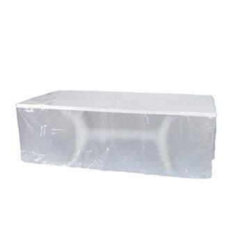 Housse 90 g grise pour table 250x150x80 cm