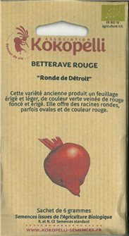 Graines de betterave Ronde Detroit